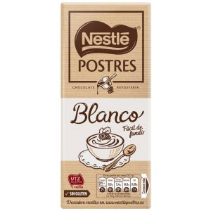 Chocolate postres blanco  nestle  180g