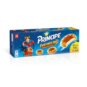 Galleta estrella principe chocolate lu 225g