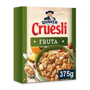 Cereales muesli con frutas quaker cruesli 375g