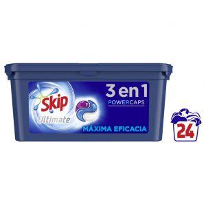 Detergente caps ultimate maxima  eficacia skip 24ds