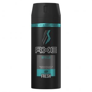 Desodorante bodyspray apollo axe 150 ml