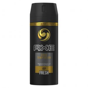 Desodorante bodyspray para hombre gold axe 150 ml