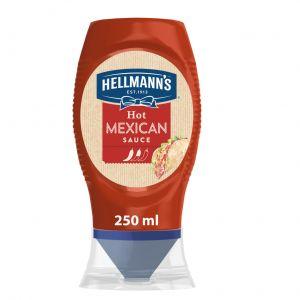 Salsa mexicana picante hellmanns pet 250ml