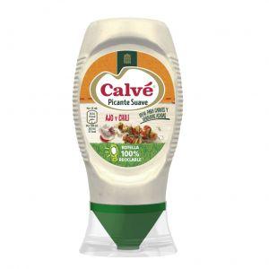 Salsa picante suave calve bocabajo 250ml