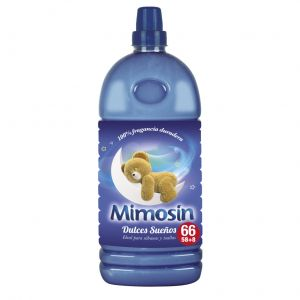 Suavizante conc dulces sueños mimosin 58 lav 1,334l