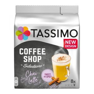 Cafe chai latte tassimo 8 caps