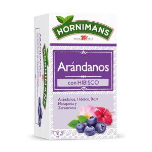 Infusion arandanos con hibisco hornimans 20 sobres