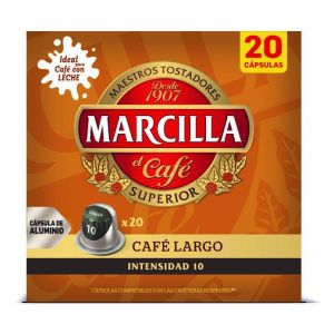 Cafe lungo marcilla 20caps