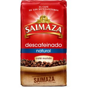 Cafe molido natural descafeinado saimaza 250 gr