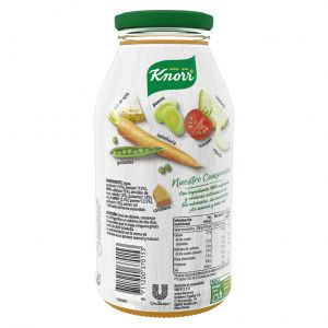 Crema 8 verduras knorr tarro 450ml