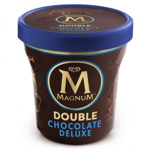 Helado double choclate magnum pint 440ml