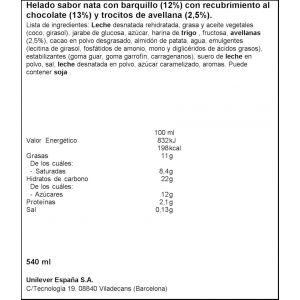 Helado cornetto clasico frigo p6x90ml