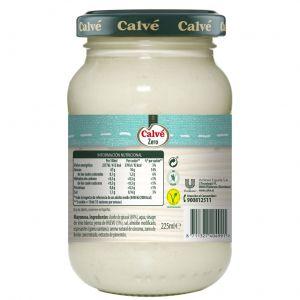Mayonesa zero calve tarro 225ml