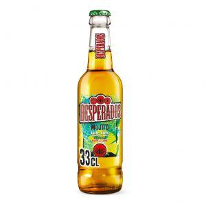 Cerveza mojito desperados botella 33cl