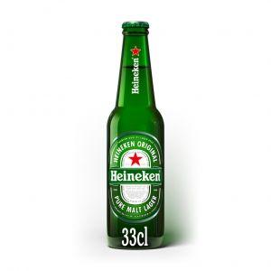 Cerveza heineken botella 33cl