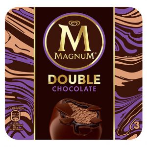 Helado magnum doble chocolate frigo p3x88ml