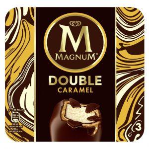 Helado magnum doble caramelo frigo p3x88ml