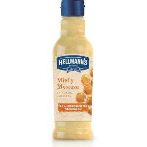 Salsa ensalada miel y mostaza hellmans 210ml