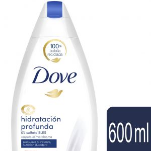Gel de ducha nutritivo hidratación profunda dove 600 ml