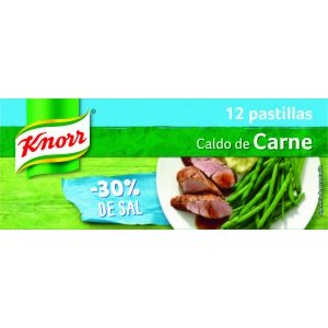 Caldo carne b/sal knorr 12 past 109gr