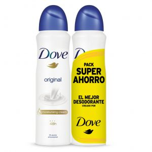 Desodorante spray mujer original dove p2x 200ml
