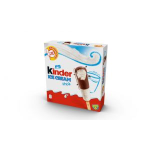 Helado stick kinder bueno pack de 10 unidades de 36ml