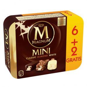 Helado magnum mini frigo p6+2x60ml