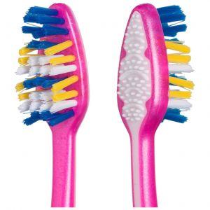 Cepillo de dientes medio 2+1 zigzag colgate
