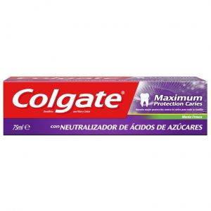 Pasta dentífrica máximum protection caries menta fresca colgate 75 ml