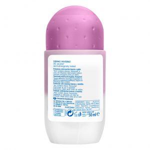 Desodorante roll-on dermo invisible sanex 50 ml