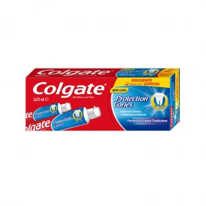 Dentifrico anticaries colgate duplo 2x75ml