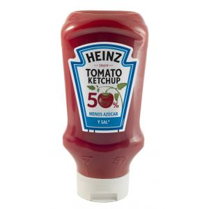 Ketchup light heinz pet 550g