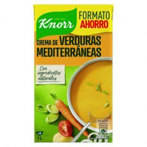 Crema mediterranea verdura knorr 1l
