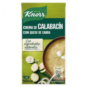 Crema de calabacin knorr 500ml