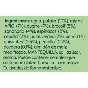 Crema selección de verduras knorr 500ml