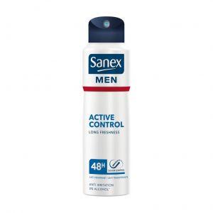 Desodorante spray men active control sanex 200 ml