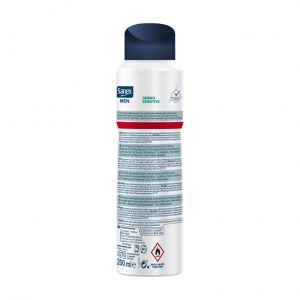 Desodorante spray men invisible sanex 200 ml