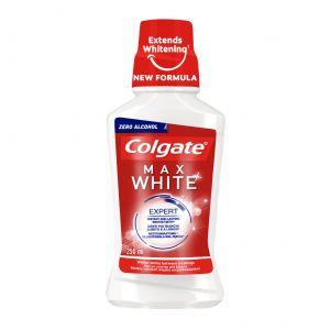 Enjuague bucal max white colgate 250ml