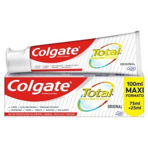 Pasta dentífrica total original colgate 75 ml