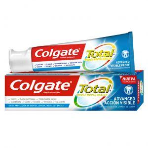 Pasta dentífrica total efecto visible colgate 75 ml
