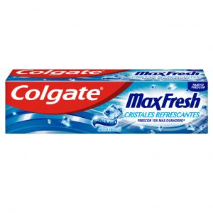 Pasta dentífrica max fresh cristales refrescantes colgate 75 ml