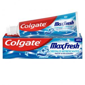 Pasta dentífrica max fresh cristales refrescantes colgate 75 ml