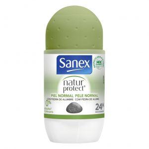 Desodorante roll-on natur protect piel normal sanex 50 ml