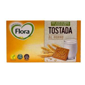 Galleta tostada flora 450g