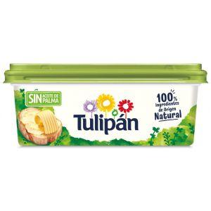 Margarina sin aceite de palma tulipan tarrina 225g