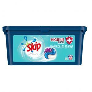Detergente caps higiene total skip 22+2ds