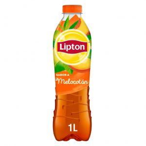 Refresco de té verde al melocotón lipton botella 1l