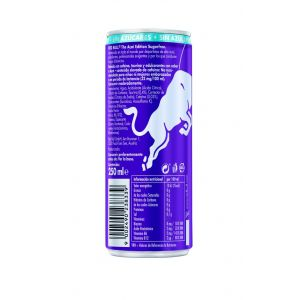 Bebida energ sugarfree acai  red bull lata 25cl