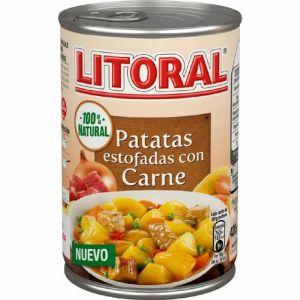 Patatas guisadas con carne litoral 420g