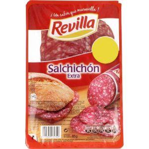 Salchichón extra revilla lonchas 85g 1 euro